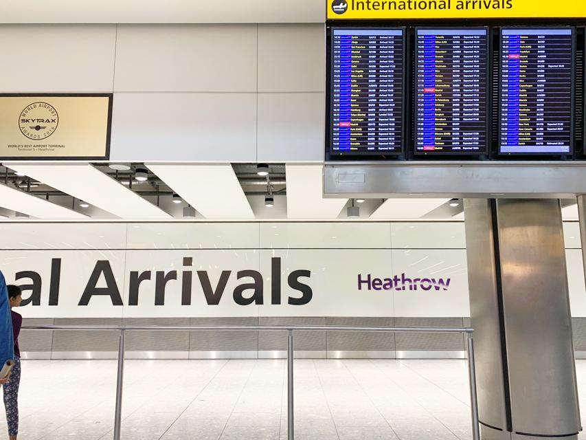 Crufts 2019 ヒースロー空港