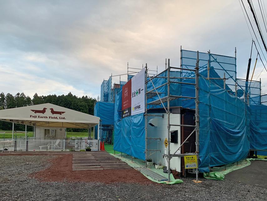 犬舎の改修工事着工