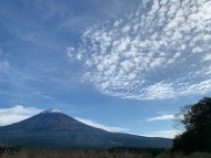 最近の富士山(1)