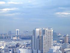ドッグアロママッサージ・東京教室会場からの眺め